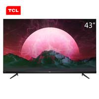 TCL 43V6 43英寸 4K 液晶电视