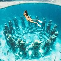 当地玩乐 : 最佳原生态潜水圣地!印尼巴厘岛-吉利岛一日游