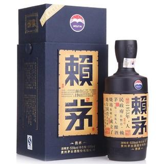 MOUTAI 茅台 赖茅传承蓝白酒 53度500ml*6 酱香型