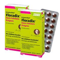 Salus Floradix 铁元补血补铁片剂 84粒*2盒