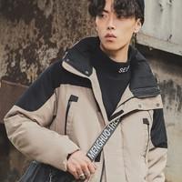 LI-NING 李宁 AYMN141 男款中长羽绒服