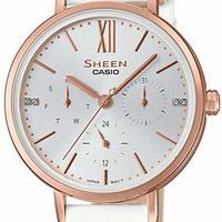 Casio Casio 女士手表 SHE-3064PGL-7AUER