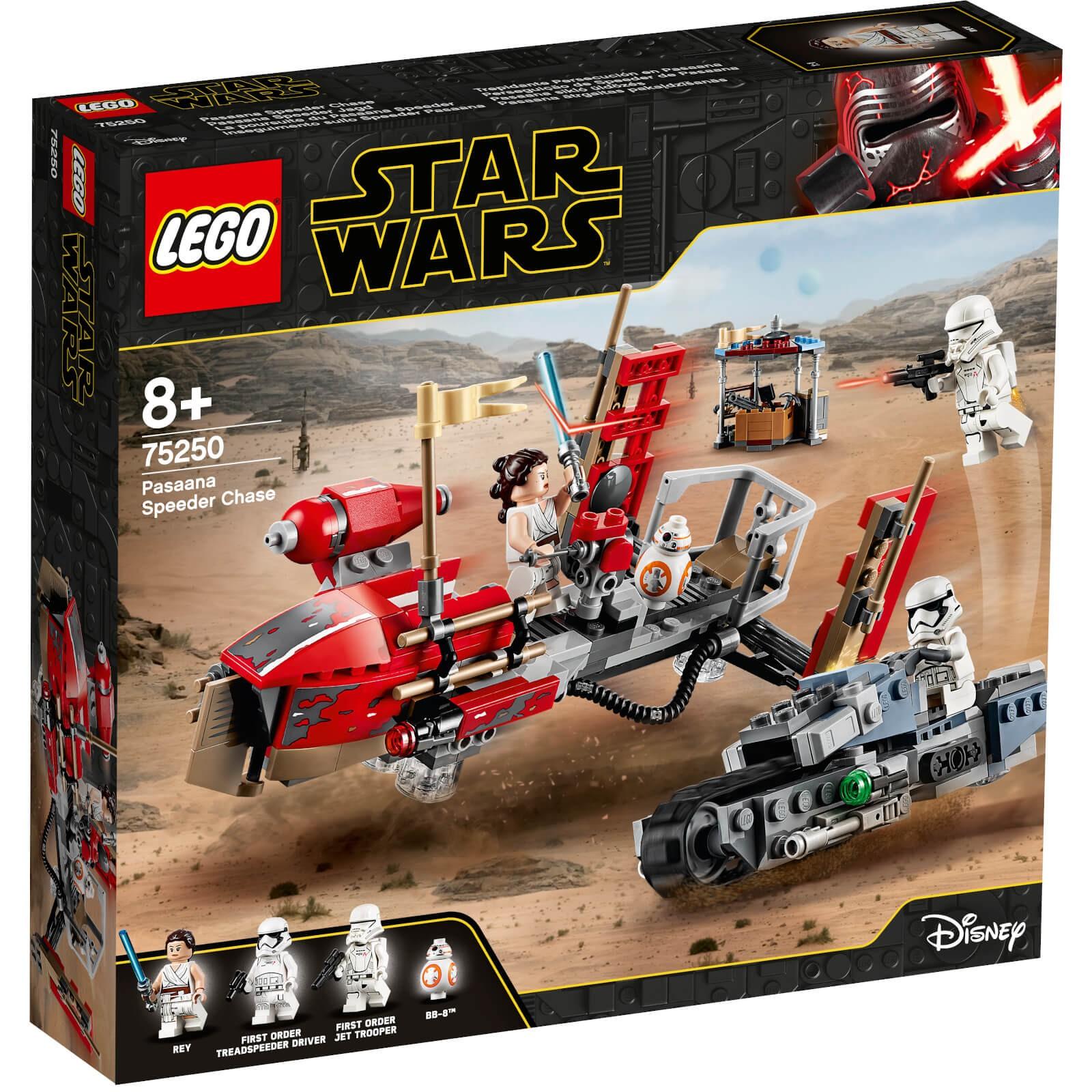 LEGO 乐高 星球大战系列 75250 帕萨纳飞艇追击