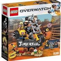 LEGO 乐高 守望先锋系列 75977 狂鼠与路霸