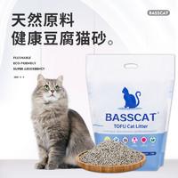 BASSCAT原味活性炭豆腐猫砂6L