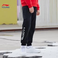 LI-NING 李宁 儿童运动长裤