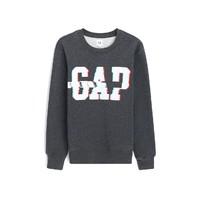Gap 盖璞 509809 男士logo徽标长袖卫衣