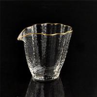 AlfunBel 艾芳贝儿 C-85-27-1 日式金边锤纹品茗杯 荷叶款公杯