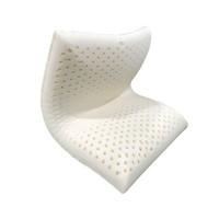 梦泰华 MENGTAIHUA 国王面包枕 泰国乳胶 防潮防霉零甲醛 白色 11cm