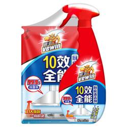 vewin 威王 厨房清洁剂 500g+补充装420g *4件