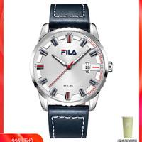 意大利斐乐FILA手表时尚潮流皮带男士手表石英表学生手表601