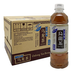 三得利 无糖乌龙茶500ml*15瓶整箱装无糖茶饮料