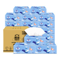 Hygienix 洁云 BEAU柔韧抽纸 火烈鸟 3层120抽20包(178*133mm)