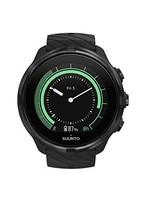 SUUNTO 中性款 9 G1 运动手表,全黑色,均码