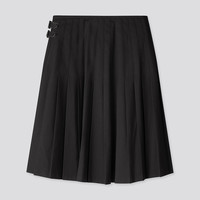 UNIQLO 优衣库  421594 女装 打褶裙 黑色 165