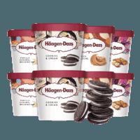 Häagen·Dazs 哈根达斯 冰淇淋礼盒 95ml*8杯