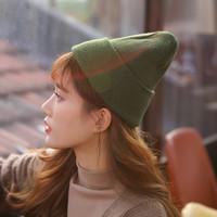 青妮美 女款针织毛线帽 多色可选