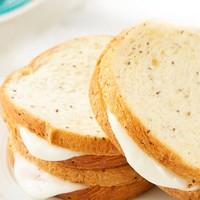 初吉 奇亚籽黑麦全麦夹心面包 600g