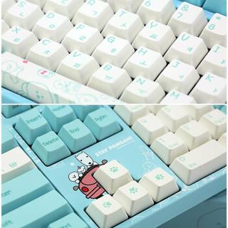 Varmilo 阿米洛 比熊系列 机械键盘 108键 (cherry速度银轴、白灯)