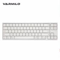 Varmilo 阿米洛 苹果Mac双系统系列 机械键盘 白灯 (cherry静音红轴、68键)