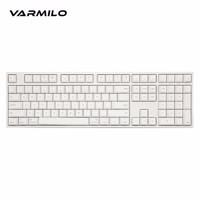 Varmilo 阿米洛 苹果Mac双系统系列 机械键盘 白灯 (cherry黑轴、108键)