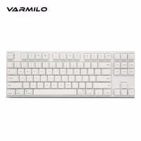 Varmilo 阿米洛 苹果Mac双系统系列 机械键盘 白灯 (cherry红轴、87键)
