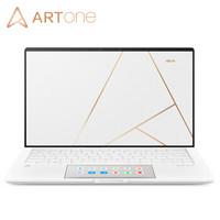 ARTONE 手工真皮 18K镀金轻奢本 13.3英寸全面屏 双屏 轻薄笔记本电脑(i7-10510U 16G 1TSSD MX250 2G)白色