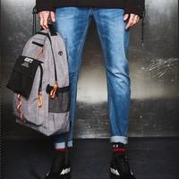 Meters bonwe 美特斯邦威 757009 男士牛仔裤