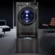 新品发售:LG 乐金 FQ13BVW 滚筒+波轮 分区全自动洗烘一体机 耀石黑 13.2kg 11999元包邮(需100元定金预约,11日付尾款)