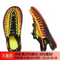 KEEN UNEEK 设计师联名限定款男女款溯溪鞋时尚凉鞋 女黑/黄火焰色1020799 40女