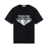 VERSACE COLLECTION 男士彩色字母印花短袖T恤 *2件