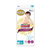 GOO.N 大王 珍珠绵柔系列 环贴式纸尿裤 L36 *2件