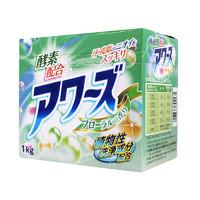 火箭石碱日本进口 酵素配方洗衣粉 花香 1kg *7件