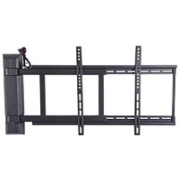 通用电动遥控电视机支架伸缩旋转挂架90度折叠壁挂超薄显示器支架