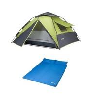德国TAWA  液压速开帐篷 双人气垫床 户外野营帐篷套餐