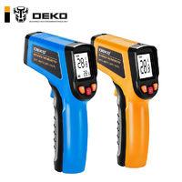 DEKO 测温仪 高精度测温枪食品油温烘焙彩屏数显工业级电子温度计