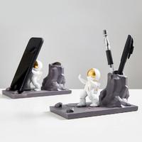 翻旧事 北欧创意宇航员手机支架 摆件装饰品