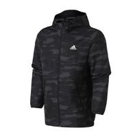 adidas DW4652 男服外套夹克迷彩梭织休闲运动服