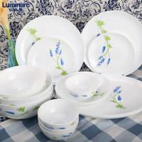 Luminarc 乐美雅 N5462 塞纳蓝餐具 十件套