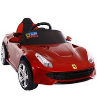 麦宝创玩 儿童四轮电动车跑车可坐人遥控汽车