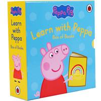 Peppa Pig 小猪佩奇 英文原版 Learn With Peppa