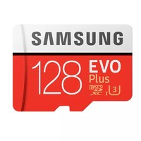 SAMSUNG 三星 EVO Plus 128GB Micro SD存储卡(读速100Mb/s)