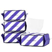 三利 纯棉一次性洗脸巾 20×15.5cm 40片 4包