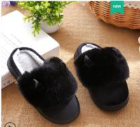 N·R·Z  B-1 儿童防滑厚底棉拖鞋