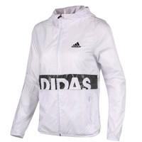 adidas 阿迪达斯 BQ1106 女子梭织夹克 白色 (AM/165/88)