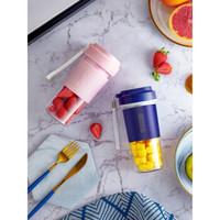 AUX 奥克斯 便携式榨汁机 (粉色)