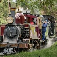 体验1990年代的怀旧铁路风光!澳大利亚墨尔本 普芬比利蒸汽火车票