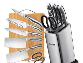 SUPOR 苏泊尔 TK1506E 不锈钢厨房刀具七件套刀