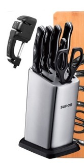 SUPOR 苏泊尔TK1505E 不锈钢厨房刀具菜刀套装