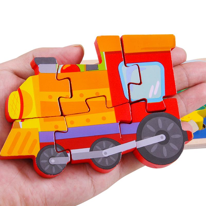 ginirabbit 吉妮兔 儿童益智玩具 积木拼图